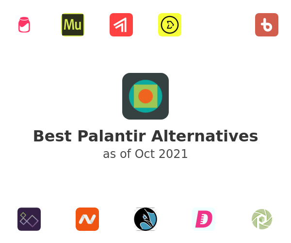 Best Palantir Alternatives