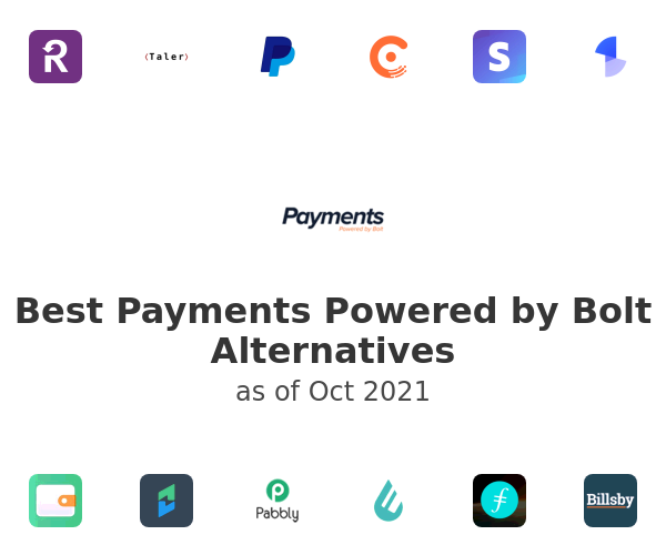 Best Payments Powered by Bolt Alternatives