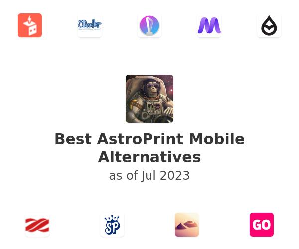 Best AstroPrint Mobile Alternatives
