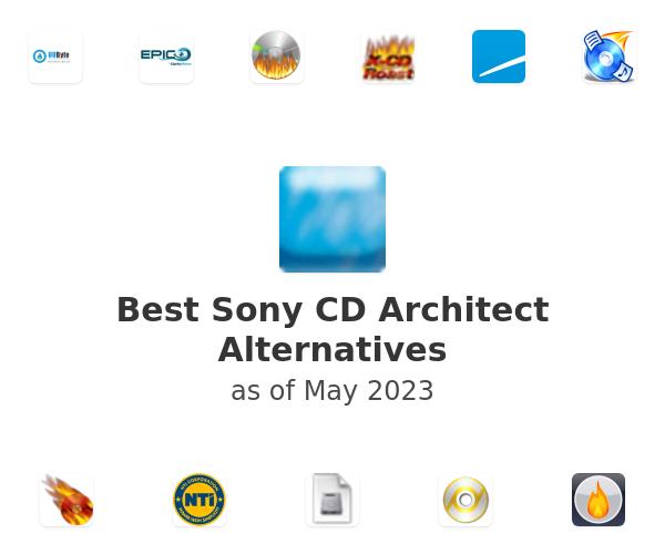 Best Sony CD Architect Alternatives
