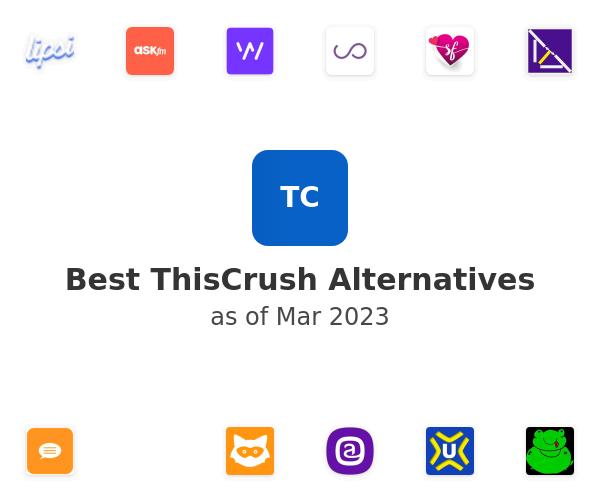 Best ThisCrush Alternatives