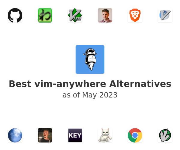 Best vim-anywhere Alternatives