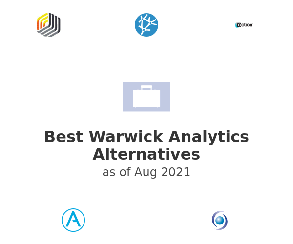Best Warwick Analytics Alternatives