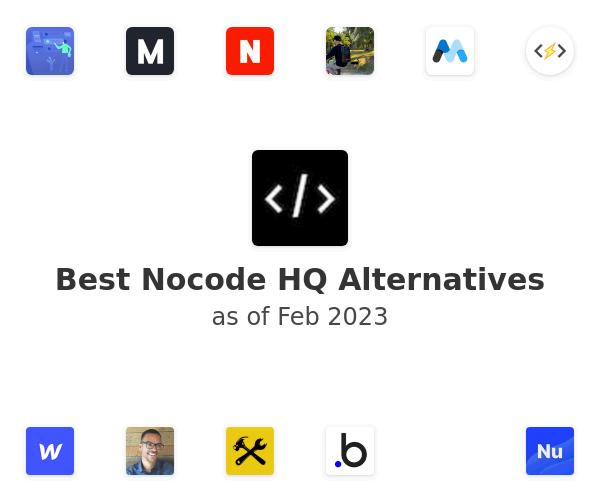 Best Nocode HQ Alternatives