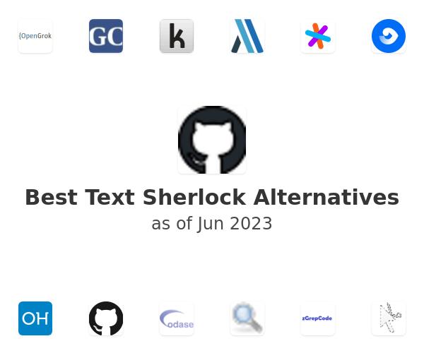 Best Text Sherlock Alternatives