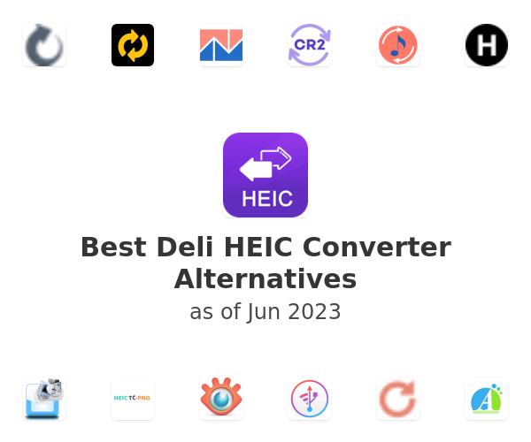 Best Deli HEIC Converter Alternatives