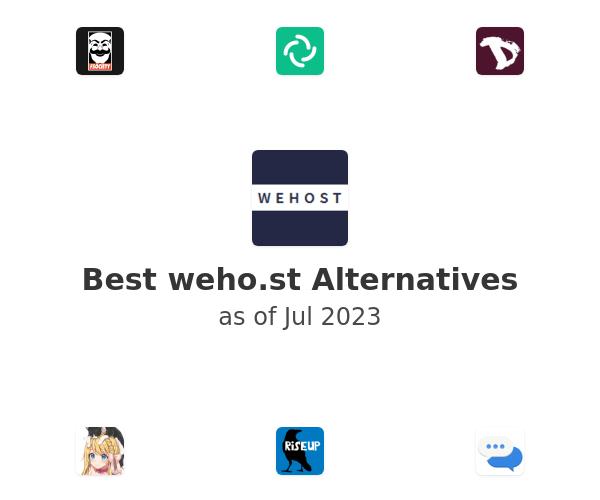 Best weho.st Alternatives