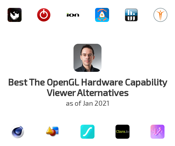 Best The OpenGL Hardware Capability Viewer Alternatives