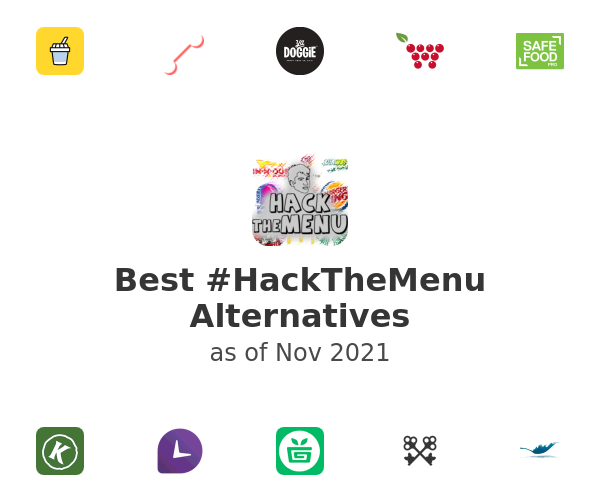 Best #HackTheMenu Alternatives