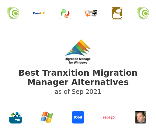 Best Tranxition Migration Manager Alternatives