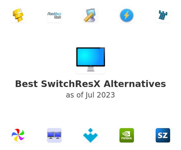 Best SwitchResX Alternatives
