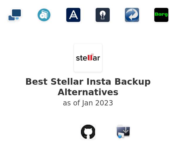 Best Stellar Insta Backup Alternatives