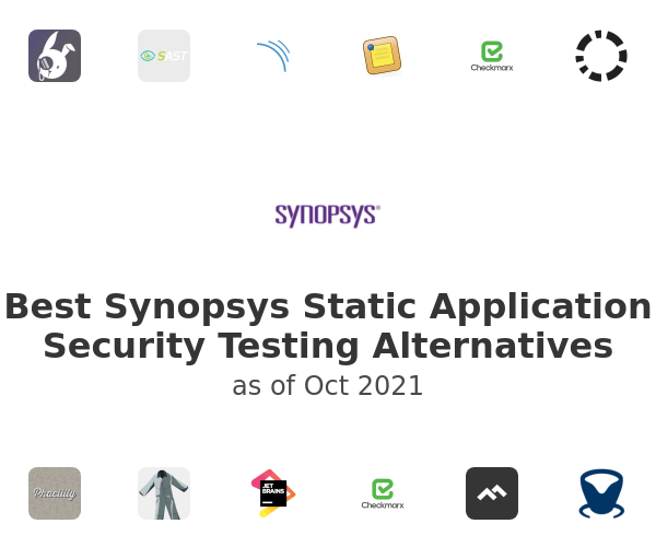 Best Synopsys Static Application Security Testing Alternatives