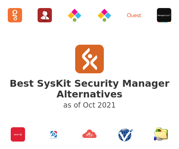 Best SysKit Security Manager Alternatives