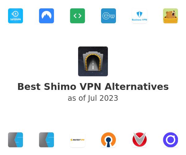 Best Shimo VPN Alternatives