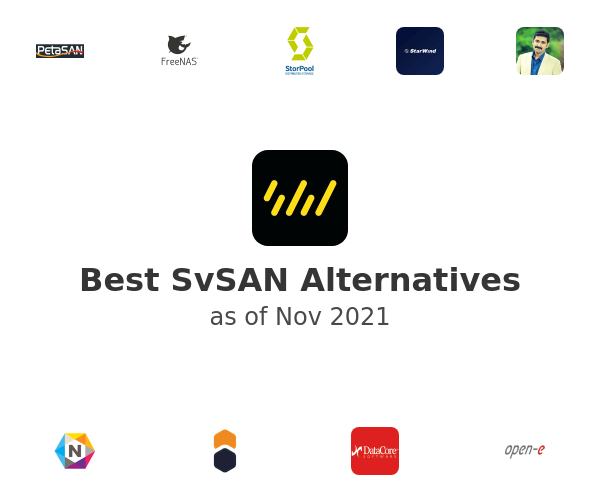 Best SvSAN Alternatives