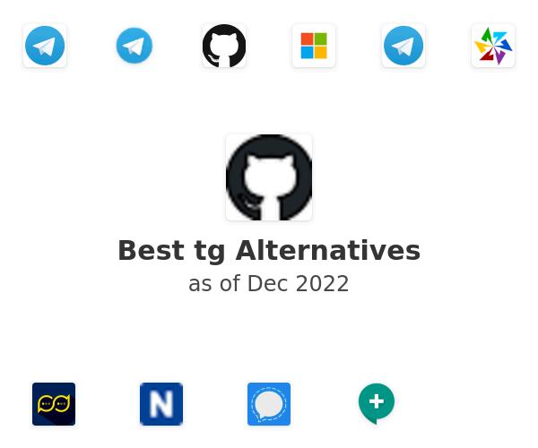 Best tg Alternatives