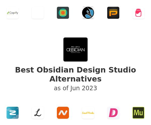 Best Obsidian Design Studio Alternatives