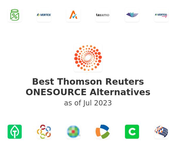 Best Thomson Reuters ONESOURCE Alternatives