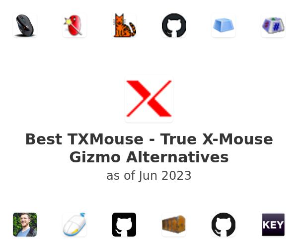 Best TXMouse - True X-Mouse Gizmo Alternatives