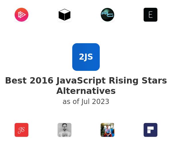 Best 2016 JavaScript Rising Stars Alternatives