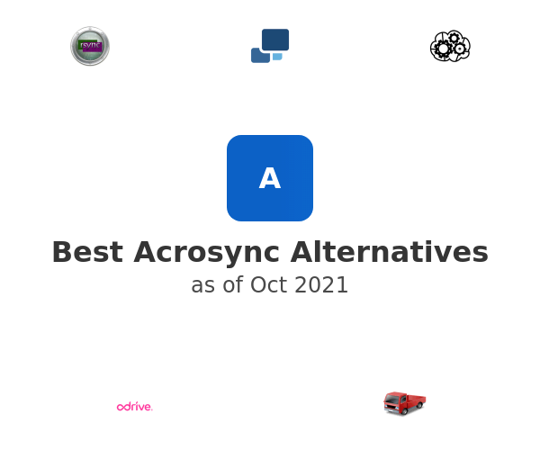 Best Acrosync Alternatives