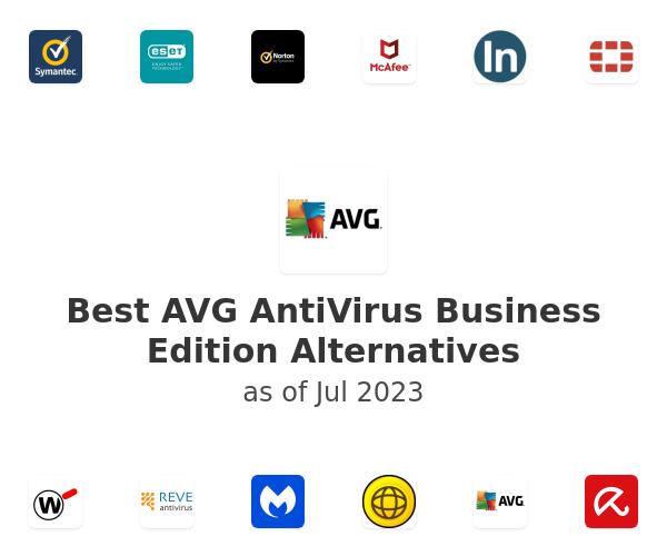 Best AVG AntiVirus Business Edition Alternatives