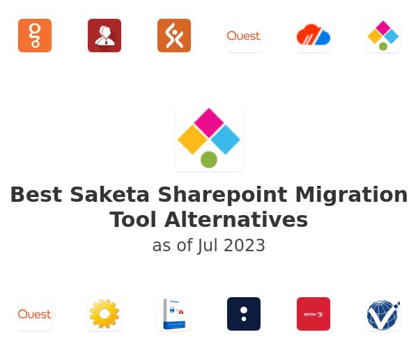 Best Saketa Sharepoint Migration Tool Alternatives