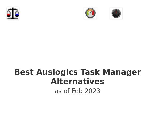 Best Auslogics Task Manager Alternatives