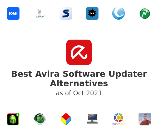 Best Avira Software Updater Alternatives