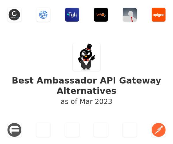 Best Ambassador API Gateway Alternatives