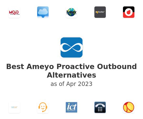 Best Ameyo Proactive Outbound Alternatives