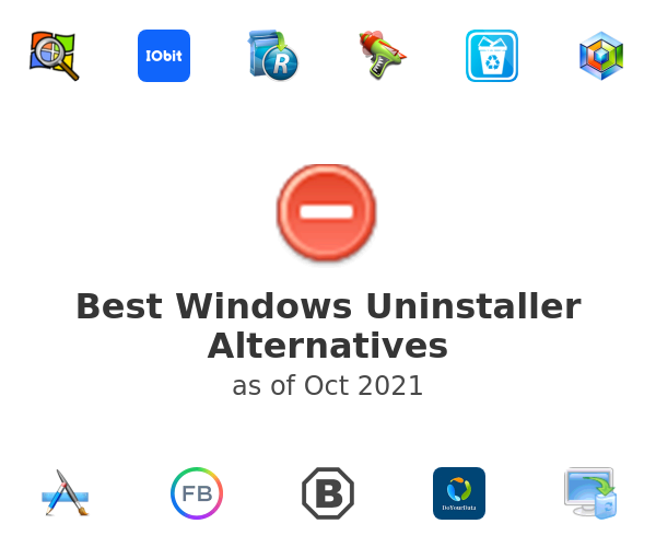 Best Windows Uninstaller Alternatives