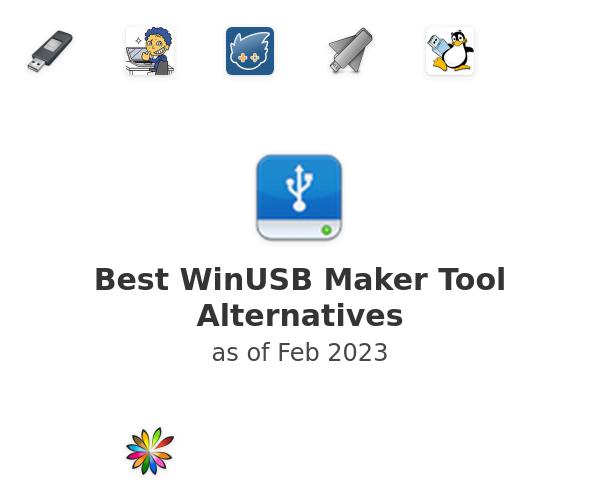Best WinUSB Maker Tool Alternatives