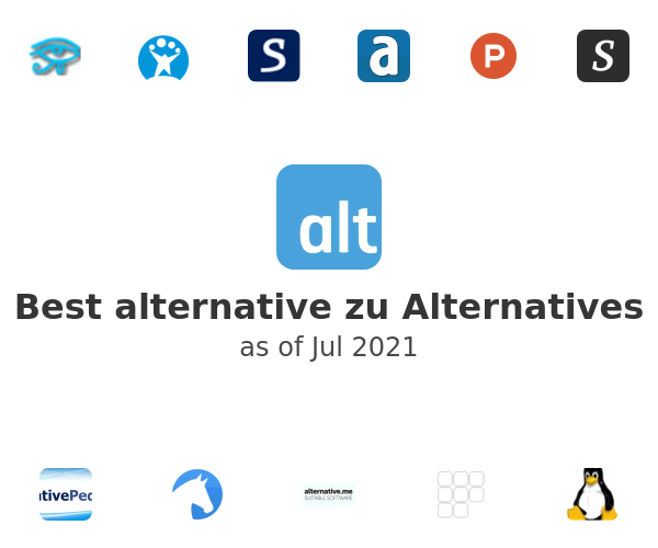 Best alternative zu Alternatives