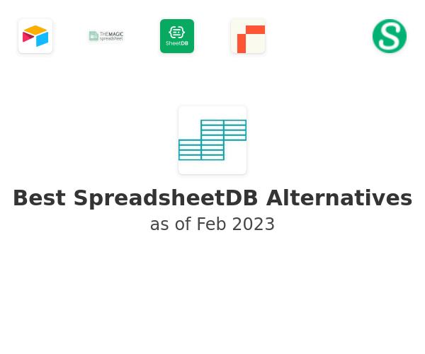 Best SpreadsheetDB Alternatives