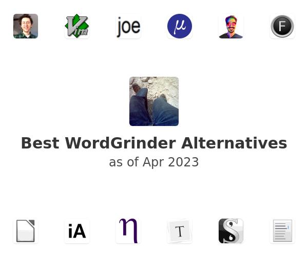 Best WordGrinder Alternatives