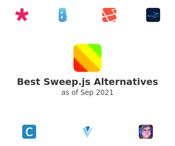 Best Sweep.js Alternatives