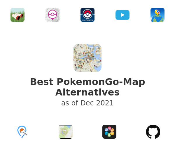 Best PokemonGo-Map Alternatives