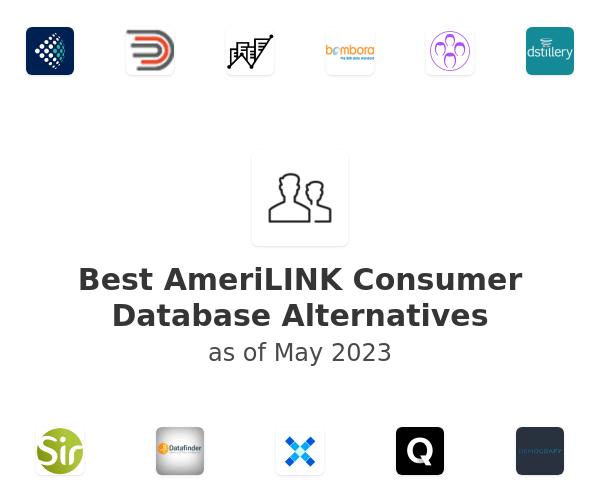 Best AmeriLINK Consumer Database Alternatives