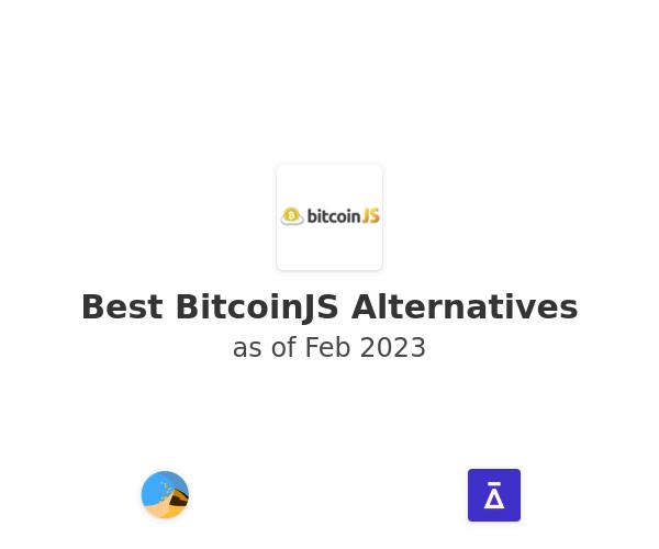 Best BitcoinJS Alternatives