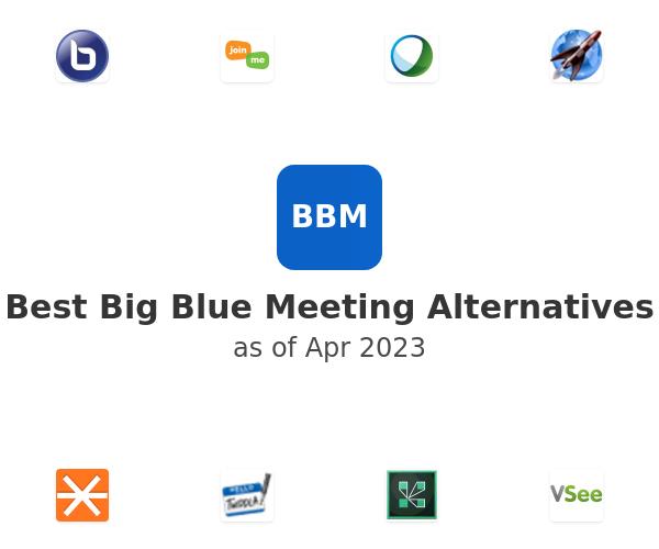 Best Big Blue Meeting Alternatives