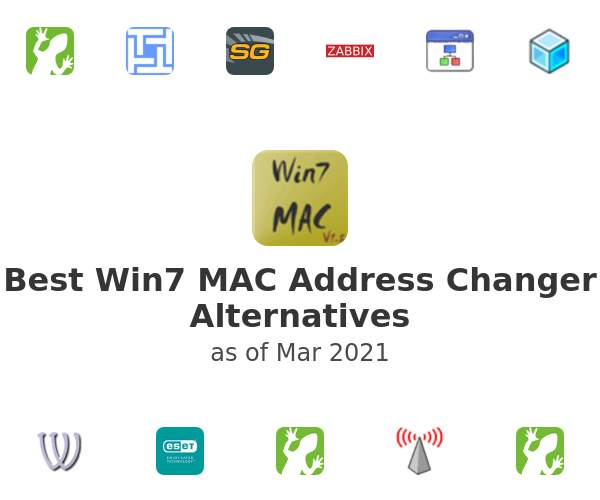 Best Win7 MAC Address Changer Alternatives
