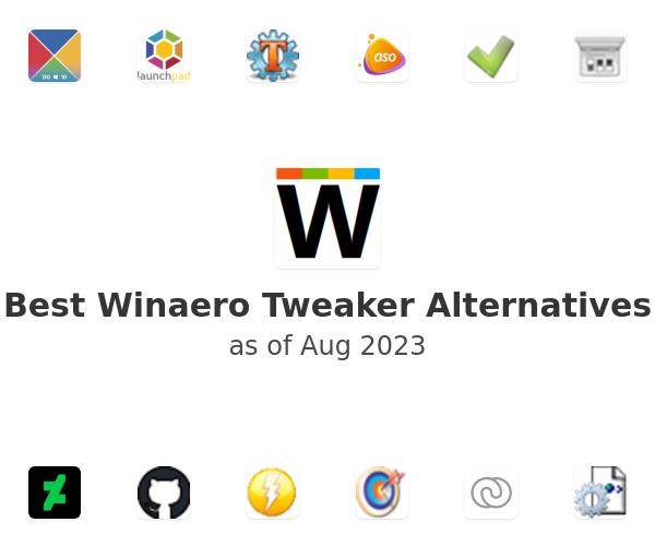 Best Winaero Tweaker Alternatives