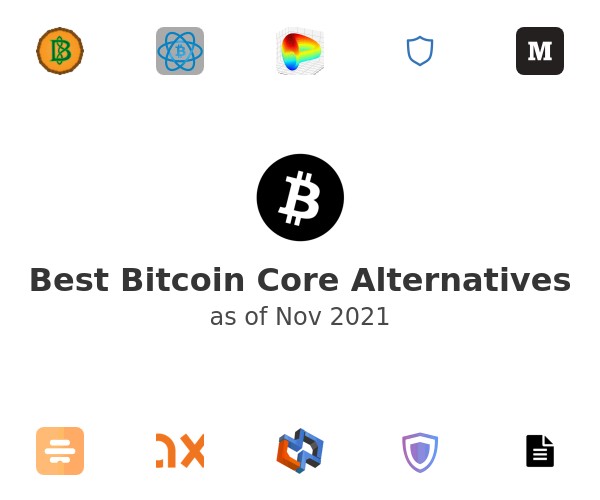 Best Bitcoin Core Alternatives