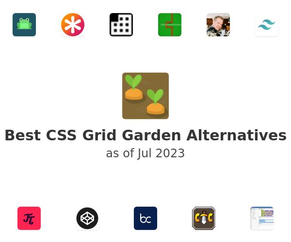 Best CSS Grid Garden Alternatives