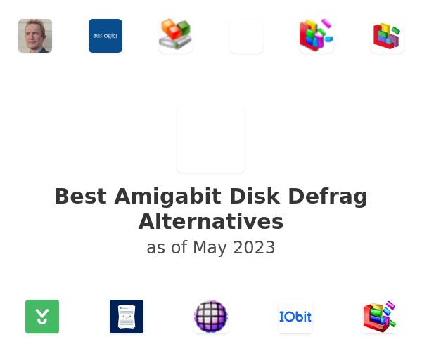 Best Amigabit Disk Defrag Alternatives