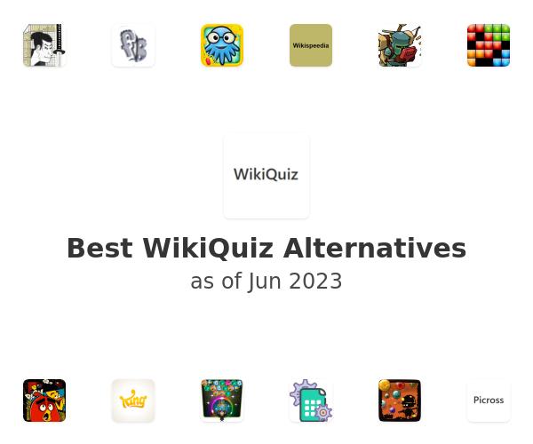 Best WikiQuiz Alternatives