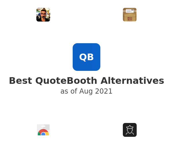 Best QuoteBooth Alternatives