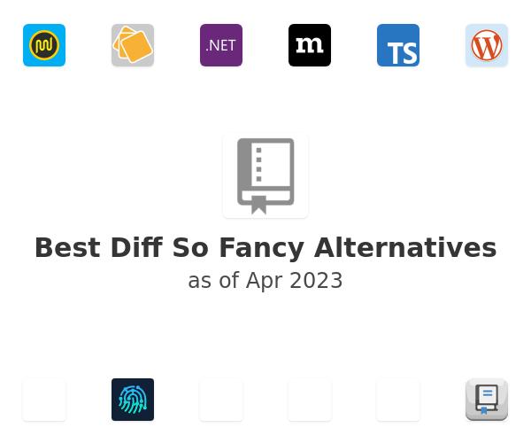 Best Diff So Fancy Alternatives